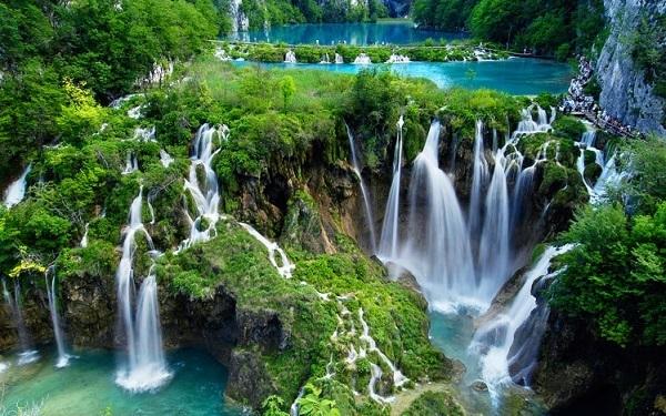 クロアチア滝